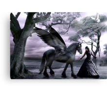 Rhiannon's Ride Canvas Print
