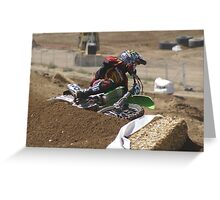Loretta Lynn's SW Area Qualifer - Rider Number 36 Competitive Edge MX Hesperia, CA, (234 Views as of May 9, 2011) Greeting Card