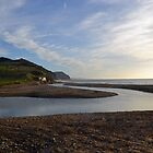 Beautiful Charmouth Christmas Day 2014 by lynn carter