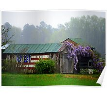 Patriotic Shed Poster