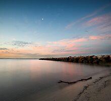 Half Moon Bay by David Haworth
