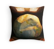 Global Melting Throw Pillow