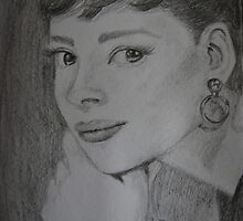 Audreys eyes by Inese