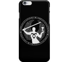 Raziel & The Mortal Instruments (The Shadowhunter's Seal) iPhone Case/Skin