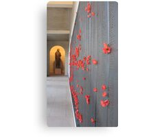 Red poppies for the fallen Metal Print