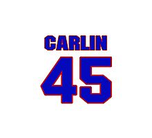 National baseball player Luke Carlin jersey 45 Photographic Print