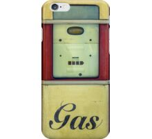 Classic Gas Pump iPhone Case/Skin