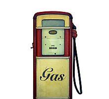 Classic Gas Pump Photographic Print