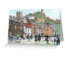 Memories of Times Gone By - all products bar duvet Greeting Card
