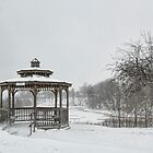 Hilltop Gazebo by Marilyn Cornwell