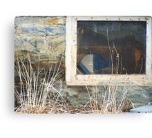 Foundation Window Canvas Print