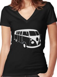 kombi t-shirts Women's Fitted V-Neck T-Shirt