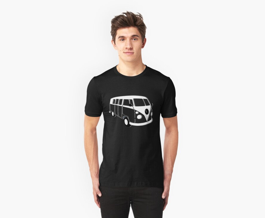 kombi t-shirts by ralphyboy
