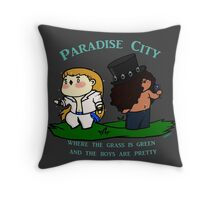 Chibi Guns'n'roses: Paradise city Throw Pillow