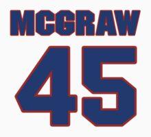 National baseball player Tug McGraw jersey 45 by imsport