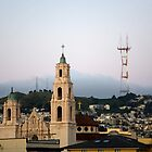 Dolores Church Dawn by Alan LeClair