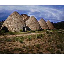 Ward Charcoal Ovens - Nevada Photographic Print