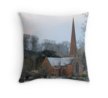 Sellack Church, Herefordshire Throw Pillow