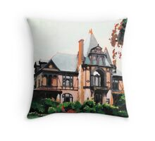 Beringer Mansion  Throw Pillow