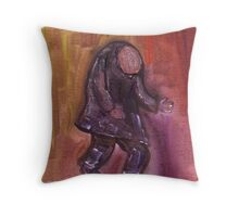The beggar Throw Pillow