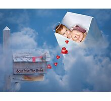 Sent From The Heart Photographic Print