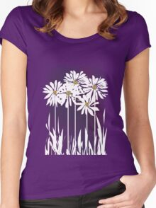 Spring Daisies Women's Fitted Scoop T-Shirt
