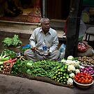 Street Vendor, Delhi by Cole Stockman