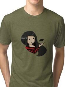 Marceline's bat Tri-blend T-Shirt