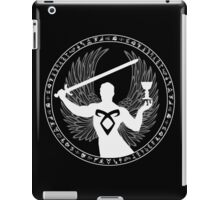 Raziel & The Mortal Instruments (The Shadowhunter's Seal) iPad Case/Skin