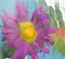 Purple Distortion by Karen  Starr