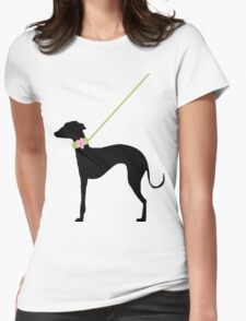 Italian Greyhound Pink Flower T-Shirt