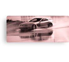 Mercedes McLaren SLR skidding Canvas Print