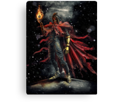 Epic Vincent Valentine Portrait Canvas Print