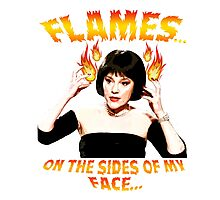 Clue Mrs White Flames Photographic Print