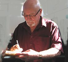 Author Brian Jacques by gothgirl