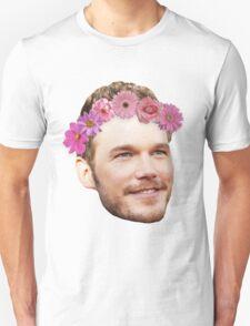 Chris Pratt Flower Crown Unisex T-Shirt