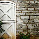 Star barn - East door. by Jeff  Wiles