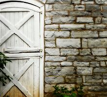 Star barn - East door. by Jeff  Wiles