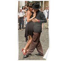 tango dancers- Buenos Aires Poster