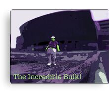 The Incredible Bulk by Tim Constable Canvas Print