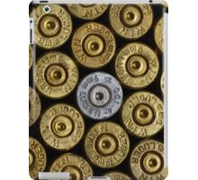 9mm Brass #1 iPad Case/Skin