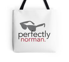 Perfectly Norman Tote Bag