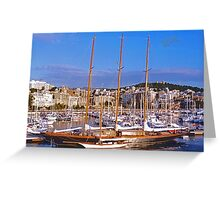 Palma Harbour Greeting Card