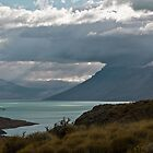 Lago St. Martin- Patagonia by David Chesluk