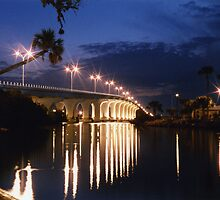Bridge over Indian River by Harlan Mayor