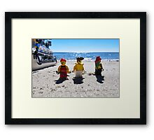 Pirate arrival: now what? Framed Print
