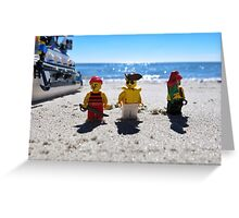 Pirate arrival: now what? Greeting Card