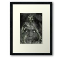 DO YOU SEE IT,MUMMY Framed Print