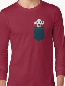 Ryan - Dalmatian Dog Print for Dog Lover, Pet Owner Long Sleeve T-Shirt