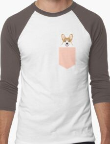 Shelby - Welsh Corgi gifts for dog lovers and pet gifts for dog person Men's Baseball ¾ T-Shirt
